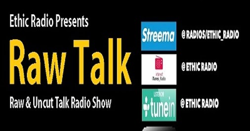 Return Of Raw Talk Radio (Pilot) w'A.C.Ceenno & Michael Broussard 9-22-17. Listen Now, Anytime, Anywhere...