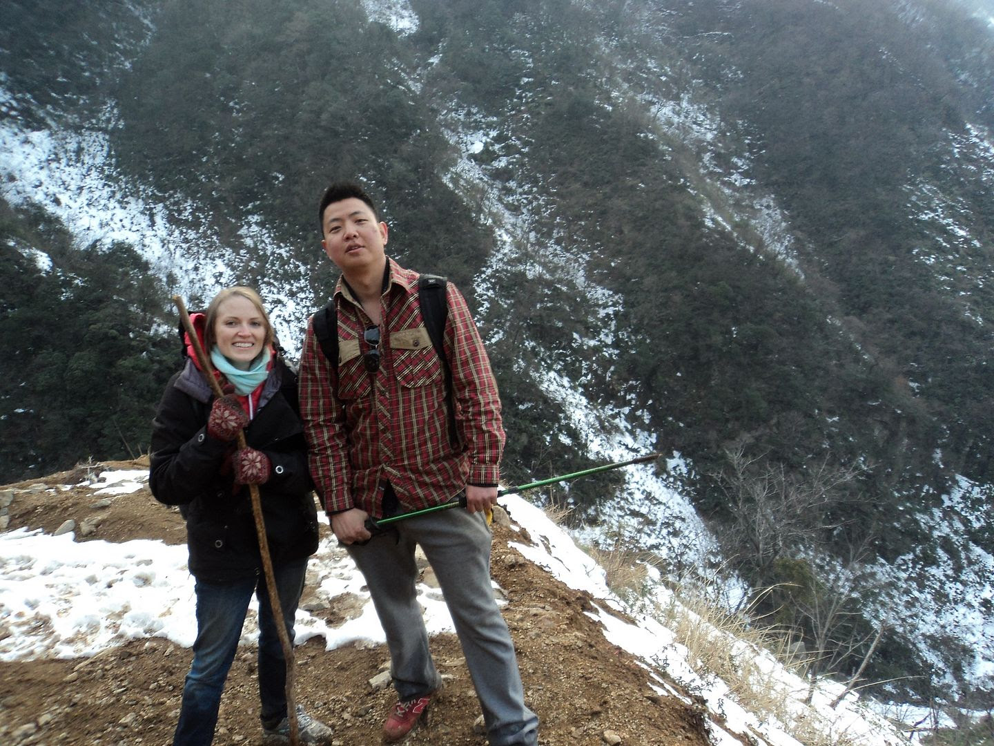 Anqi and I at Tiejian Mountain, Ningguo, Anhui, China photo 6_zps0541fdf9.jpg