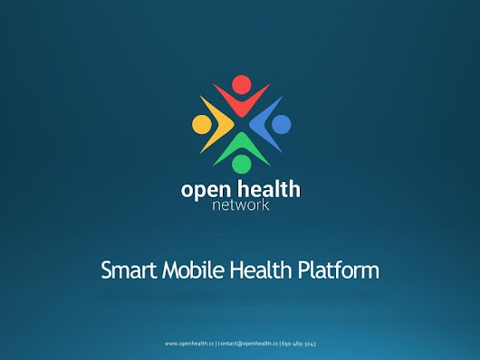 Open Health Network : mobile health apps in a week without coding!