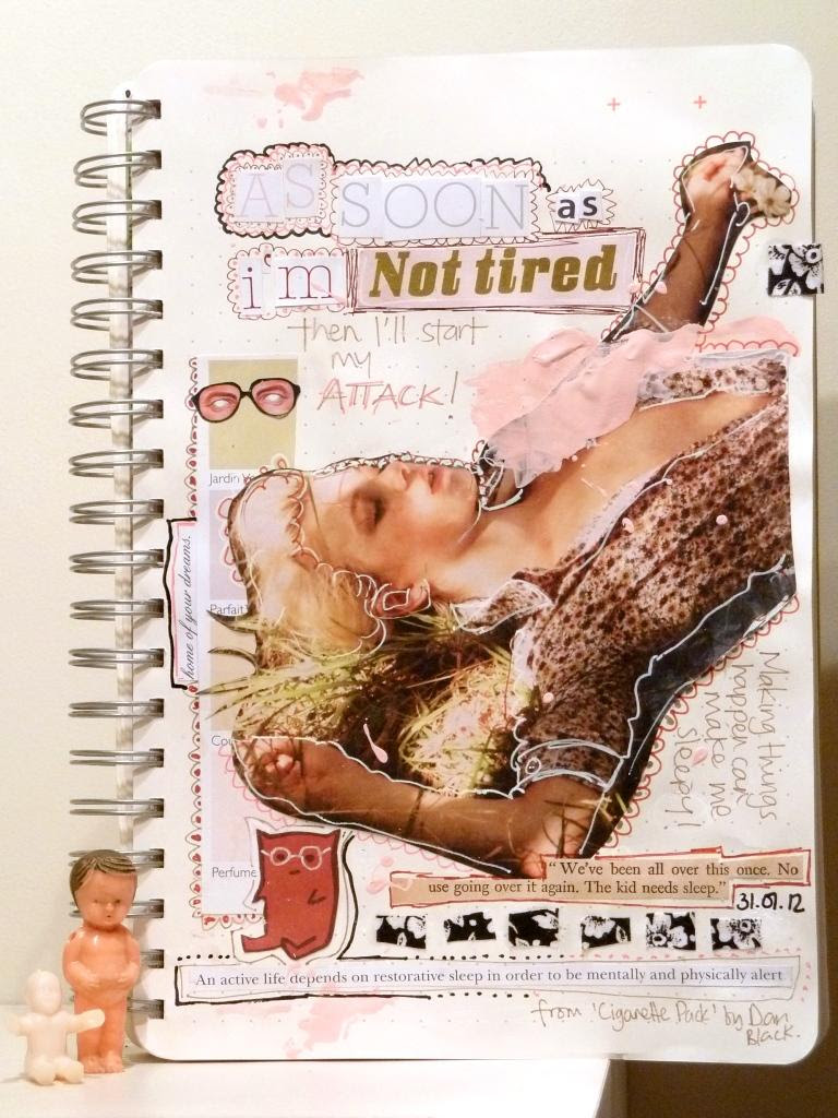Art Journal: As Soon As I'm Not Tired