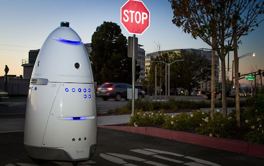 Man arrested for allegedly assaulting a robot security guard in Silicon Valley