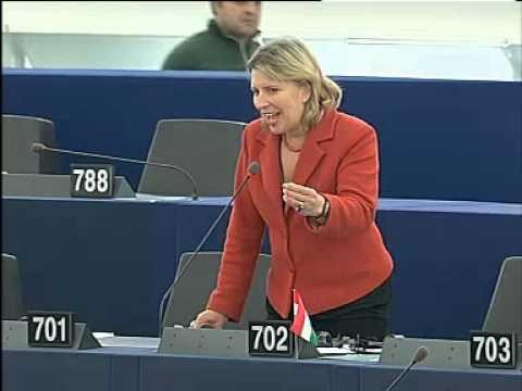 """""""Maradt-e bármi oka Magyarországnak arra, hogy az EU tagja maradjon?"""" - kérdezte Morvai Krisztina az Európai Bizottság tagjaitól, miután ma az EU pénzügyminiszterei 145 milliárd forintnyi kohéziós pénzt vettek el Magyarországtól. A képviselőnő rámutatott, hogy a földmoratórium lejárta után a nyugati befektetők szereznék meg a magyar termőföldet, miközben kohéziós pénzeinket elveszik, hazánkat pedig minden vonalon gyarmatosítják. Rákérdezett, hogy vajon az uniós főbürokraták hallottak-e már 1956-ról és a magyar szabadságszeretetről. Andor László, magyar uniós biztos (akit a Bajnai-kormány nevezett ki) higgadtságra intette Morvait és mindazokat az egyre növekvő magyar tömegeket, akik pontosan a higgadt mérlegelés után teszik fel a címben szereplő kérdést."""