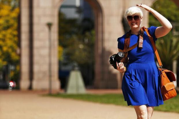 Conheça Amy Hildebrand, a deficiente visual que é um show de fotógrafa Félix Zucco/Agencia RBS