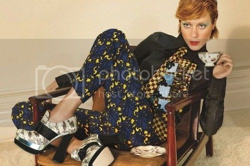 Chloe Sevigny for Miu Miu Fall 2012 Ad Campaign