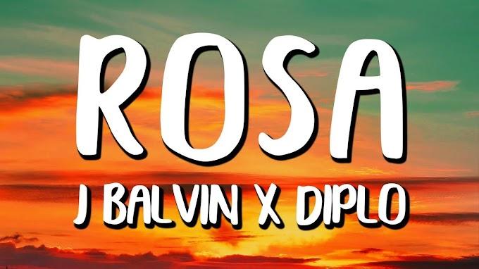 Balvin - Rosa song lyrics _ Colores