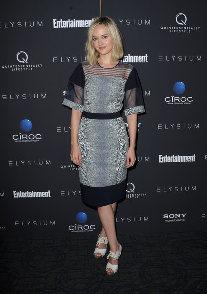 Jess Weixler - 'Elysium' New York Screening - Arrivals