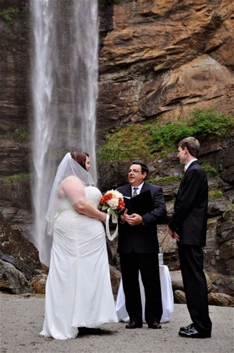 Toccoa Falls   Toccoa Falls Weddings   Waterfall Weddings