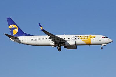 Mongolian Airlines (MIAT) Boeing 737-8AS WL EI-CSG (msn 29922) PEK (Michael B. Ing). Image: 911982.