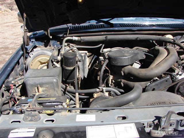 1986 Ford F150 Engine Detail