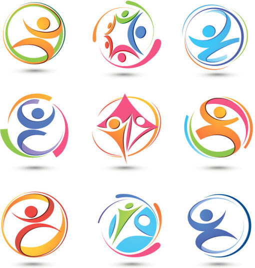 Abstract logo free vector download (80