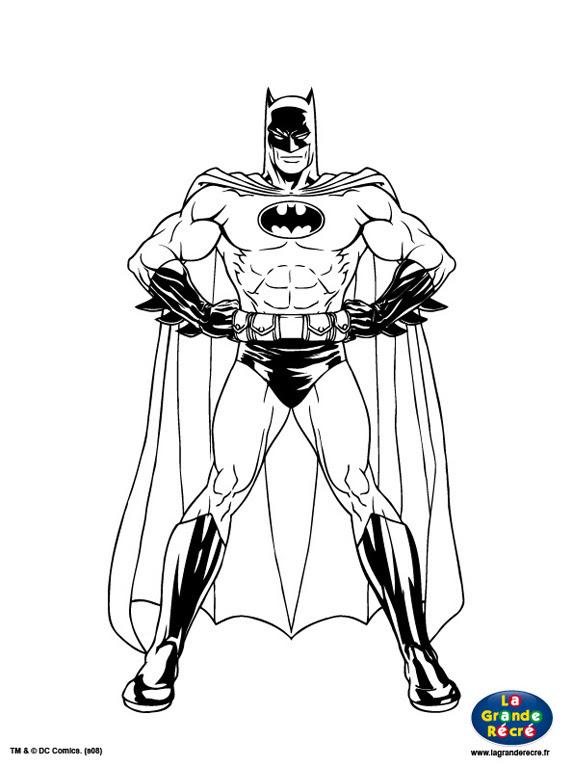 310 Dessins De Coloriage Batman à Imprimer Sur Laguerchecom Page 5