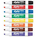 Sanford Ink Corporation SAN80078 Dry-Erase Markers- Chisel Point- Low-odor- 8-ST- Assorted