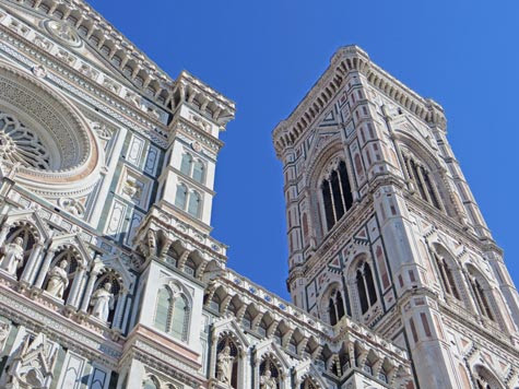 Giotto's Tower in Florence Italy - Florence City Landmark