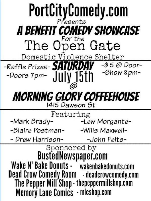 Benefit Comedy Show for The Open Gate!