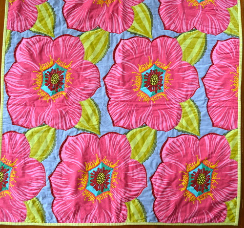 garden party whole cloth quilt