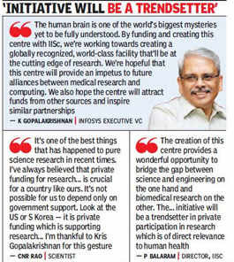 Infosys co-founder, Kris Gopalakrishnan gives IISc Rs 225 crore