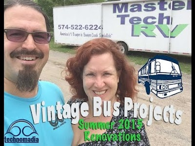Technomadia's Vintage Bus Restoration Project: Complete video set