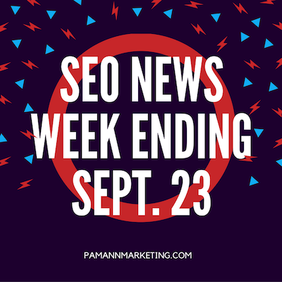 AMPs, Allo, and More in This Week's SEO News Wrap Up