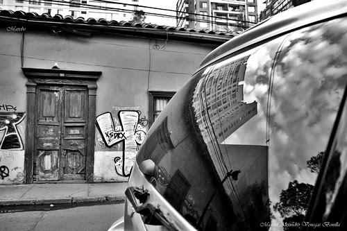 Santiago de Chile, barrio Bellavista by Alejandro Bonilla