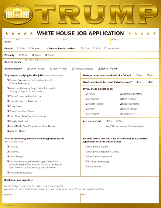 Is a Job at the White House Right for You? - The New York Times