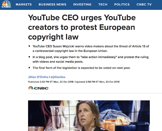 Does YouTube Underpay Artists 13 Billion a Year? Understanding YouTube's Article 13 Freakout