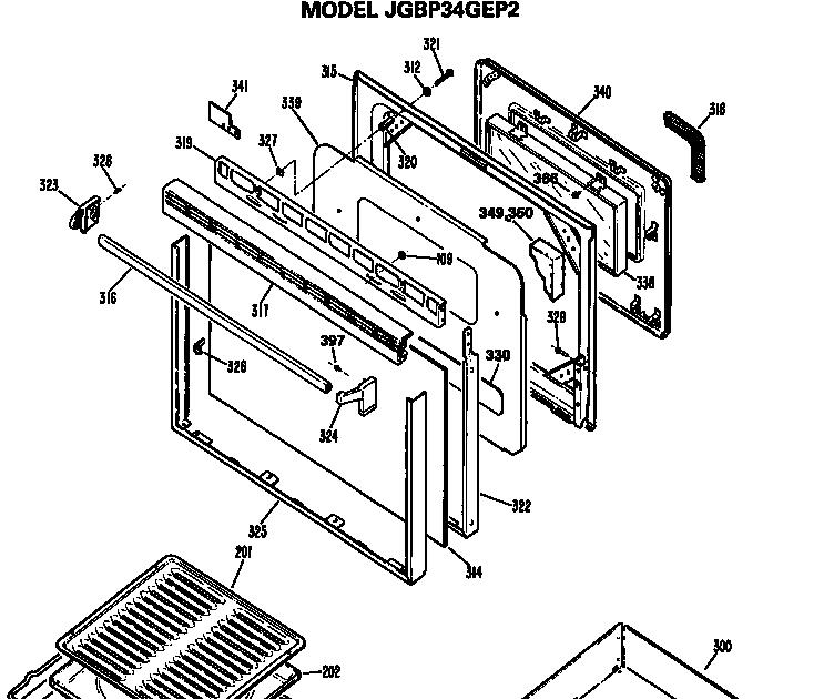 Wiring Diagram  29 Ge Stove Parts Diagram