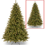 7.5-foot Lakewood Spruce Tree with Dual Color LED Lights