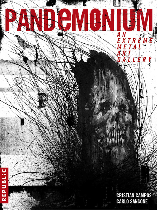 "Pete Alander featured in a book ""Pandemonium. An Extreme Metal Art Gallery"" - Bandmill"