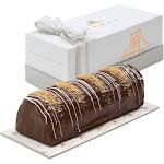 Fancy Chocolate Truffle Halva Log, Kosher