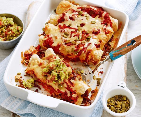 Turkey Enchilada Bake recipe | Food To Love