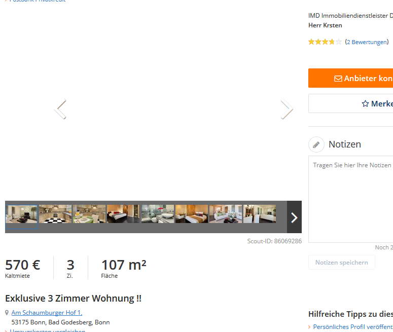 vorkassebetr ger im gehackten makler account von imd. Black Bedroom Furniture Sets. Home Design Ideas