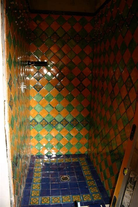 mexican tile   shower mexican home decor gallery