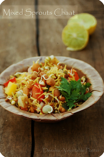 Mixed Sprouts Chaat