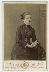 [Portrait of a woman, Florence... Digital ID: 812302. New York Public Library