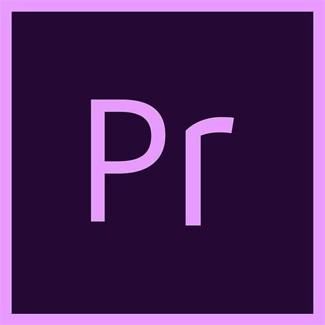 premiere adobe logo  image  pixabay