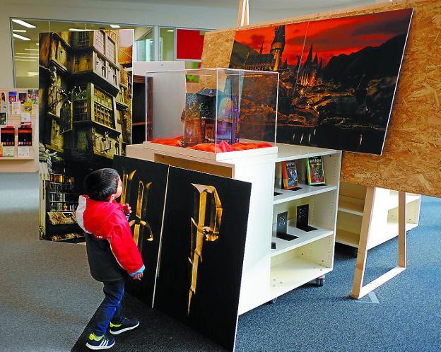La Biblioteca CBA homenajea el universo de Harry Potter por su vigésimo aniversario