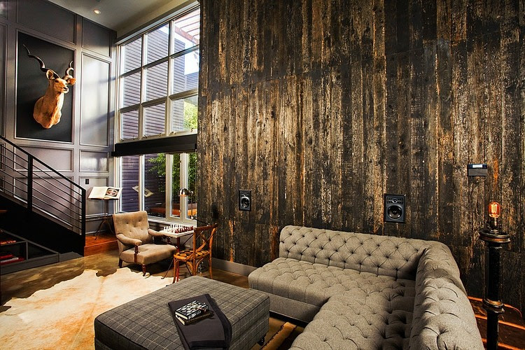 Industrial Retro Interior Design | Home Adore