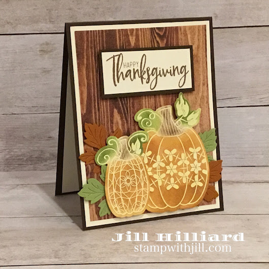 Introducing Martha's Pumpkins - Jill's Card Creations