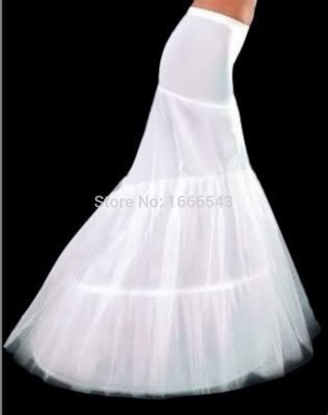 2015 New Ivory Bridal Petticoats Mermaid Floor Length 3