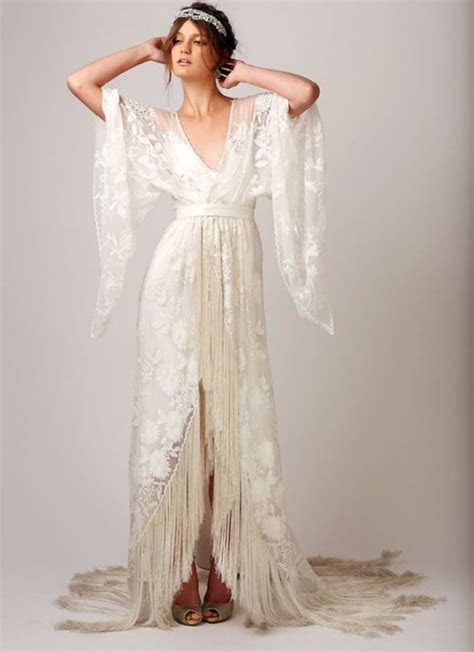 18 Romantic Bomemian Chic Summer Wedding Dresses for The
