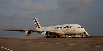 Français : 1er Airbus A380 Air France