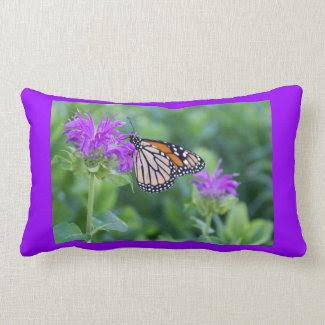 Monarch Butterfly Reversible Throw Pillows