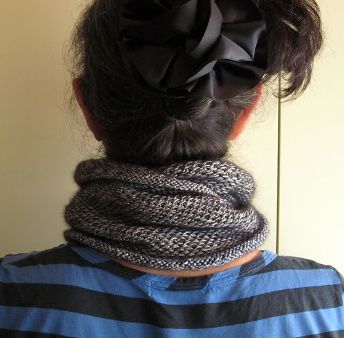 metallic honey cowl-bck