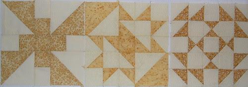 yellow sampler blocks