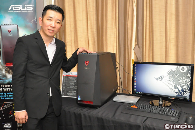 ASUS ROG Tytan Gaming Desktop Launch - One Button Overclock