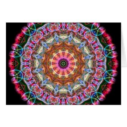 Nature Love kaleidoscope Cards