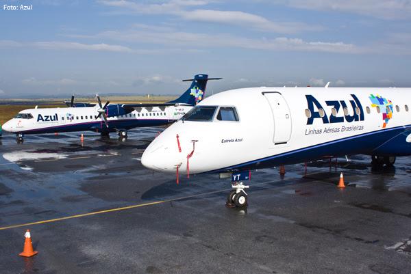 Azul substituirá ATR-72 por Embraer 195 na rota entre Sorriso e Cuiabá
