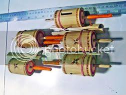 souvenir gasing bambu