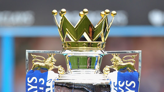 Premier League trophy spotted at Stamford Bridge after BBC error