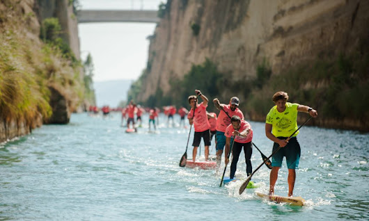 Record Numbers Gather at 8th Annual Corinth Canal | Supconnect.com